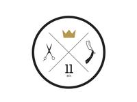 Golden Crown Barbershop emblem