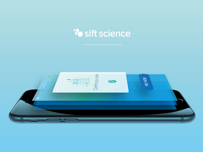 Header image for Sift Science mobile offering blog science sift header mobile