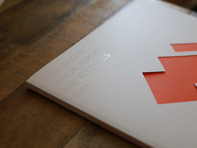WANdisco Annual Report Cover