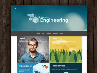 Sift Science Engineering Site animation a-team forrest web web design sift science interactive wordpress illustration microsite engineering