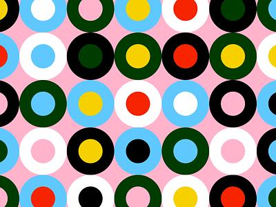 Circular color combos color palette design circle color pattern