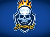 East LA Damned Logo
