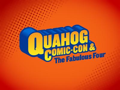 Quahog Comic Con Logo