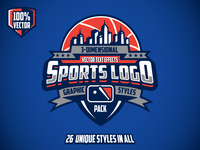 3d Sports Graphic Styles Preview