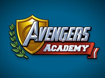 Avengers Academy Logo logo marvel game avengers