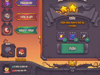 Complete Fantasy Game UI Kit