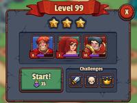 Legends TD UI Style Development