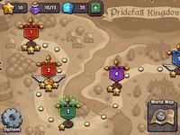 Legends TD World Map UI
