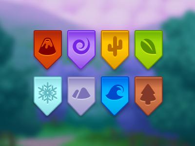 Element ribbons