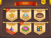 Market full