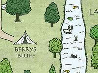 Illustrated Map for Wedding Program