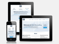 Responsive Web Design for KLN Consulting