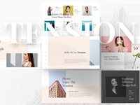 Tension Powerpoint Template