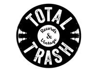 Total Trash Records & Vintage Logo
