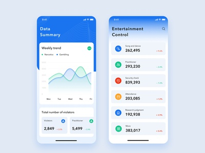 Data Summary Ui