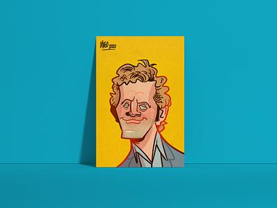 David - Element Human company caricatures sketchbook photoshop ipadart caricatures caricature