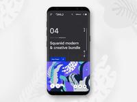 Project showcase - mobile version