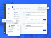 Email campaign preview UI