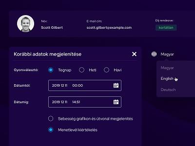 Dashboard redesign - dark mode design ui dashboard ui dashboard