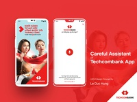 Careful Assistant Of Techcombank UX Design