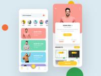 Designers App profile design app design app