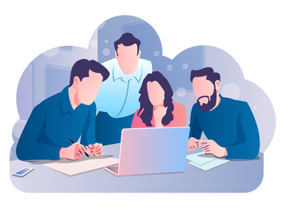 Project Meeting Discussion discussion illustration group discussion illustration people illustration vector art digital art meeting illustration project meeting illustration illustration