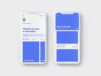 Recipe app prototype