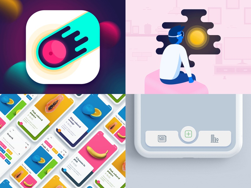 2018 art micro interaction experience inteface user motion animation illustration web app ux ui