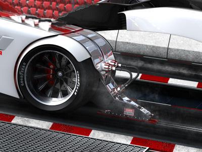 The Barracuda concept car composing 3d cinema 4d ao c4d concept gi illustration machine model race racer render sci-fi scifi space space ship spaceship vehicle rendering
