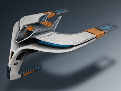 Eagle 2 3d concept illustration machine model race racer render sci-fi scifi space space ship spaceship vehicle rendering