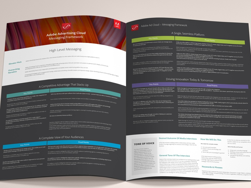 Adobe Advertising Cloud Brochure layout design layouts layout layoutdesign flat design clean print indesign adobe indesign adobe illustrator draw adobe illustrator cc adobe illustrator adobe illustration adobe