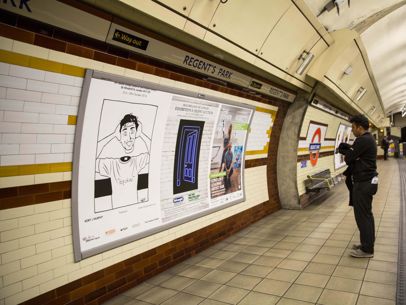 London Underground by Rory J Murphy on Dribbble
