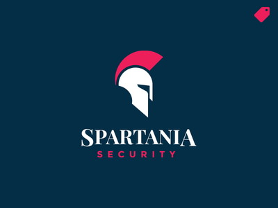 """Spartania"" logo template"