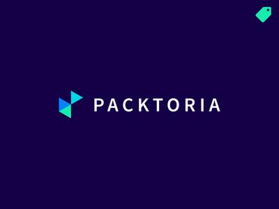 """Packtoria"" logo template"