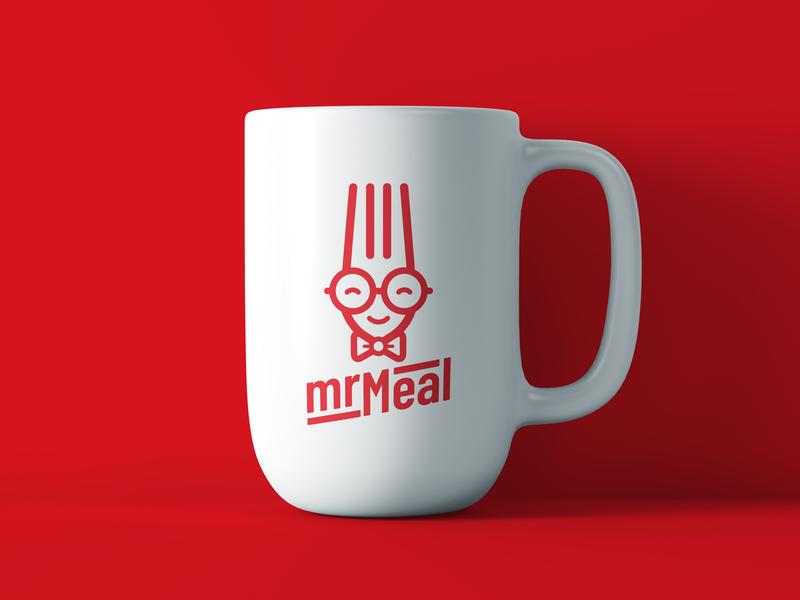 """MrMeal"" custom logotype"