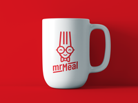 """MrMeal"" custom logotype"