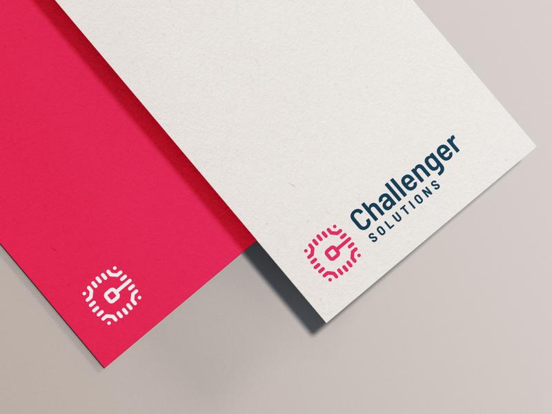 """ChS"" custom logotype"