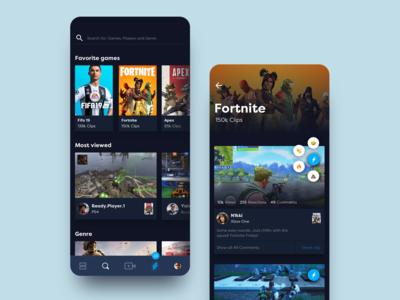 Social Gaming App