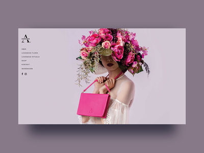 👜 Fashion Website - Alexandra Svendsen fashion brand fashion fashionwebsite handbag uxdesign uidesigns uidesign uxui ui