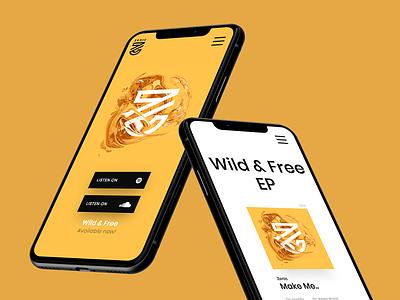 🎼 Zenic - EDM Artist Website music website music edm uxdesign awwwards ux uidesign ui