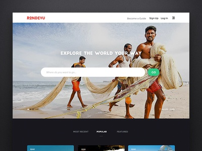 Travel Discovery Platform