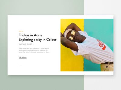 Tastemakers Africa - Journal Component
