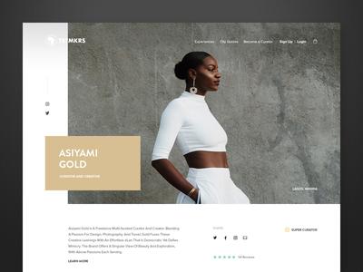 Tastemakers Africa - Curator Profile