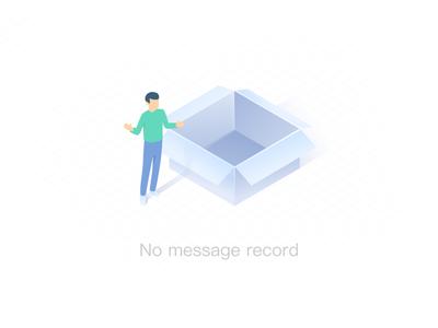 No Message Record