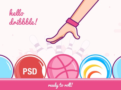 RapidOps Solutions: First Shot first shot hello dribbble psdcenter rapidops introduction