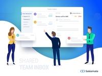 Salesmate Team Inbox