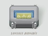 Santiago Bernabeu, Madrid.
