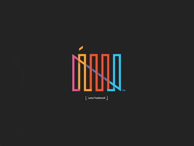 Lama Logo minimal design brand branding logo lama