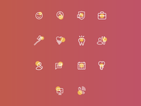 "Icons and website in process for ""Smile"""