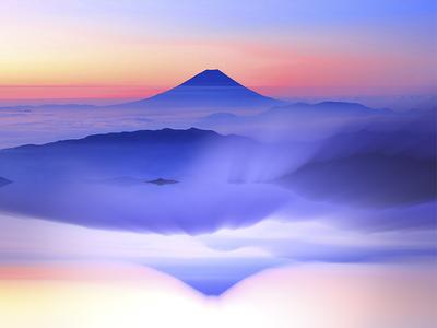 Fujiyama Volcano